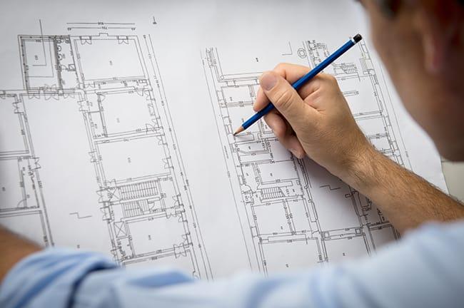 Architecte Bureaux plans